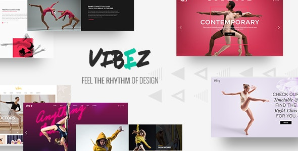 Vibez - Dynamic Theme for Dance Studios and Instructors - Health & Beauty Retail