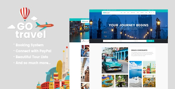 GoTravel - Travel Agency Theme - Travel Retail