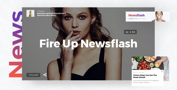 Newsflash - News Magazine Theme - News / Editorial Blog / Magazine