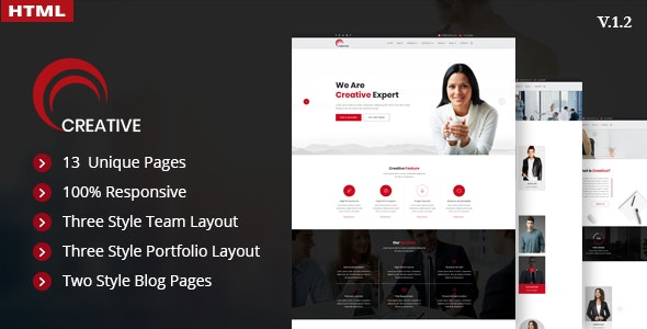 Creative – Finance, Corporate and Consulting Business Template - Business Corporate