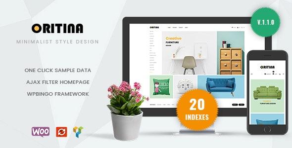 Oritina - Minimal Furniture WooCommerce Theme - WooCommerce eCommerce