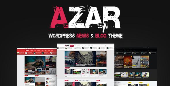 Azar - WordPress News & Blog Theme - News / Editorial Blog / Magazine