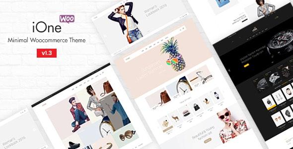 iOne - Minimal Responsive WooCommerce Theme - WooCommerce eCommerce