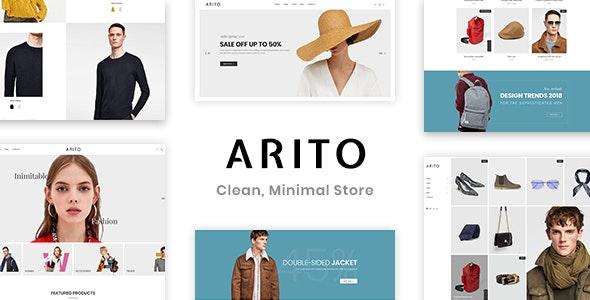Arito - Clean, Minimal Store PSD Template - Fashion Retail