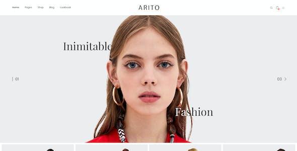 Arito - Clean, Minimal Store PSD Template