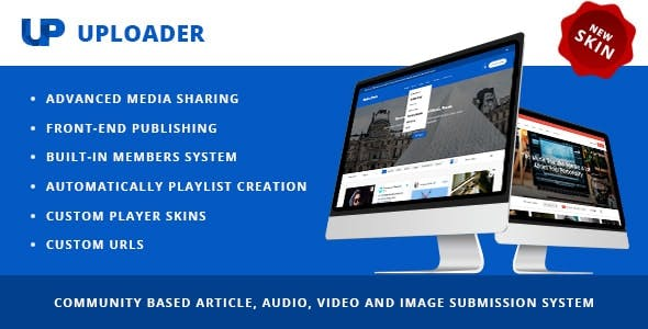 Uploader - Advanced Media Sharing Theme