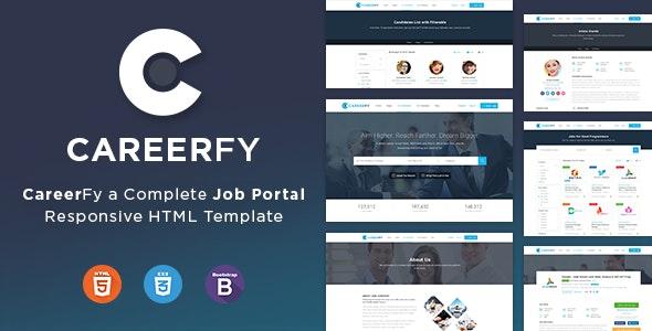 Careerfy Job Board HTML Template