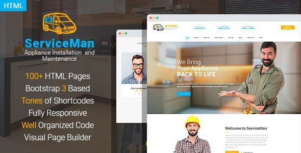 Fixetics - Household Appliance Installation and Maintenance HTML Template - Business Corporate