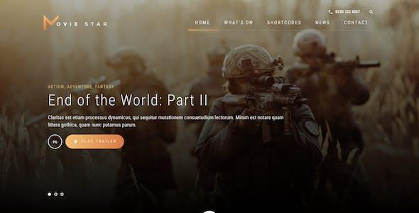 Specto - Cinema WordPress Theme