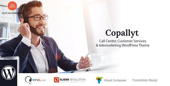 Copallyt : Call Center & Telemarketing WordPress Theme