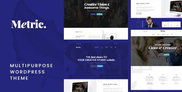 Metric – Business Multipurpose WordPress Theme