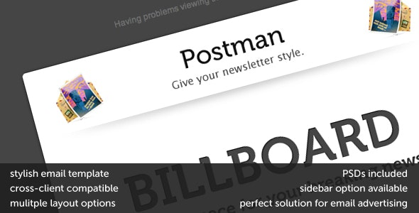 Postman - Newsletters Email Templates