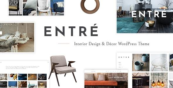 Entré - Interior Design Theme - Portfolio Creative