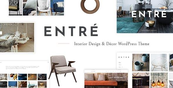 Entré - Interior Design Theme