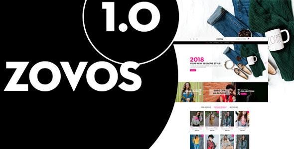 Zovos - Fashion PSD Templates - Retail Photoshop