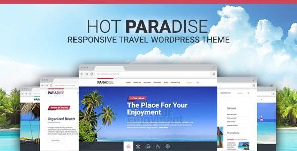 Hot Paradise - Responsive Travel Theme