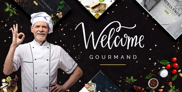 Gourmand - Restaurant, Bistro & Chef Theme - Restaurants & Cafes Entertainment