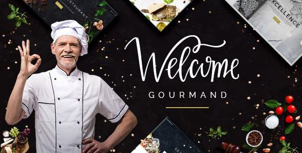Gourmand - Restaurant, Bistro & Chef Theme