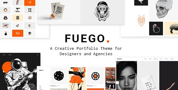 Fuego - Creative Portfolio Theme for Design Agencies