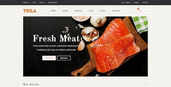 JMS Trila - Responsive Fresh Food Prestashop Theme