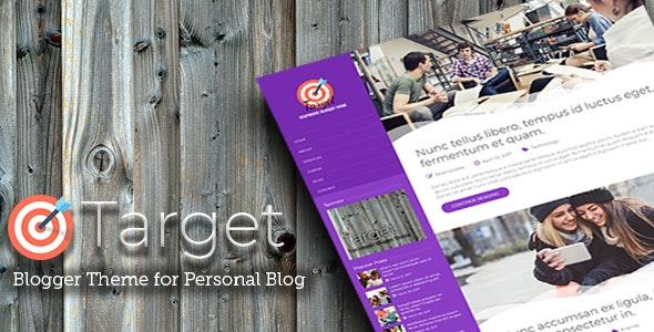 Target - Responsive Blogger Theme - Blogger Blogging
