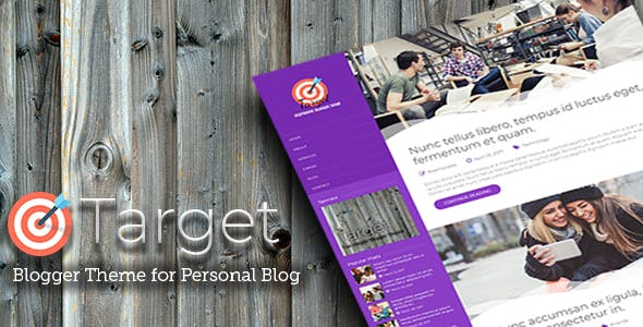 Download Target - Responsive Blogger Theme