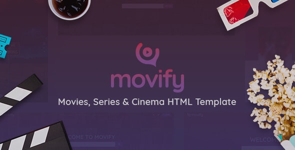 Movify - Movies, TV Shows & Cinema HTML Template - Film & TV Entertainment