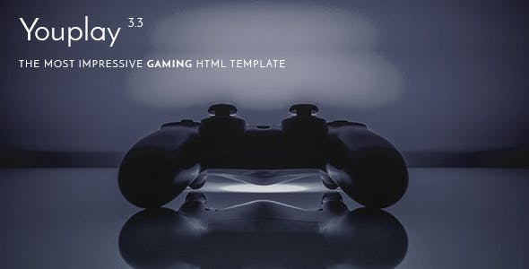 Youplay - Game Template Based on Bootstrap