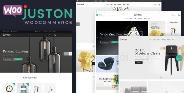 Juston - WooCommerce Responsive Furniture Theme - WooCommerce eCommerce