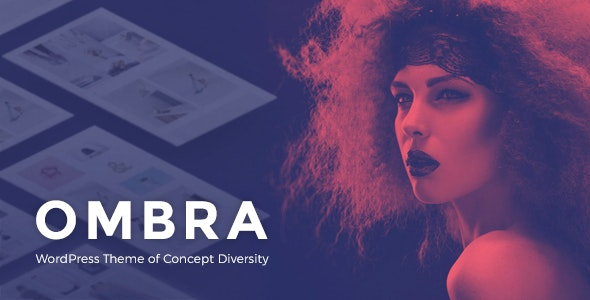 Ombra - A Versatile Multiconcept WordPress Theme - Creative WordPress
