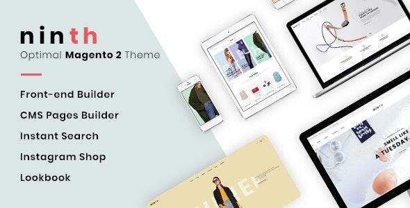 Ninth - Optimal Magento 2 Theme - Magento eCommerce