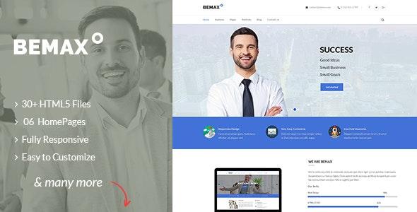 Bemax - Multipurpose Corporate Business HTML5 Template - Business Corporate