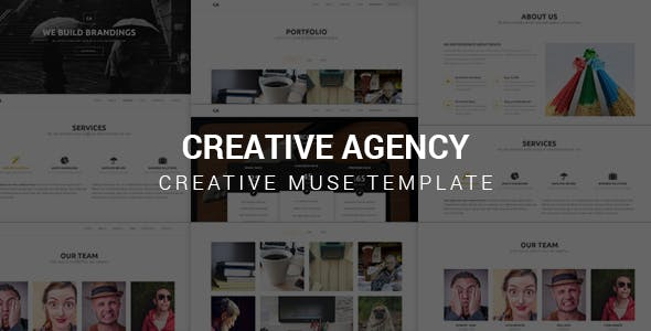Download Creative Agency - Muse Template
