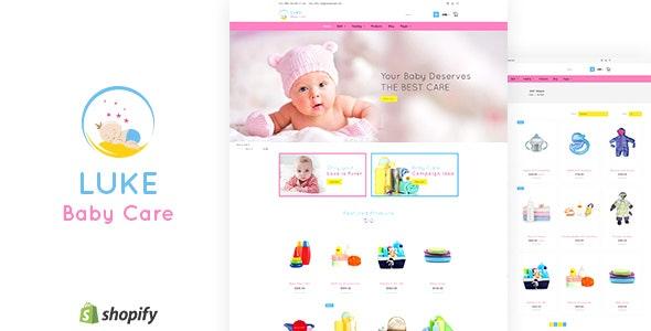 Luke - Toys Store, Baby Shopify Theme - Health & Beauty Shopify