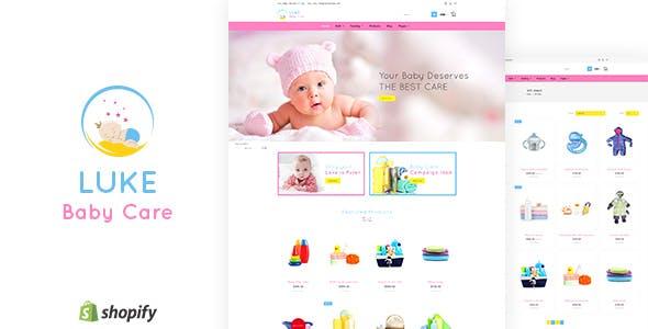 Luke - Toys Store, Baby Shopify Theme