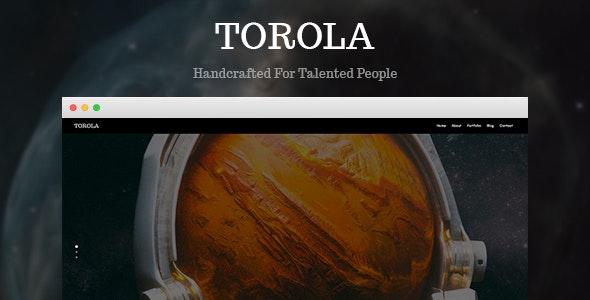 Torola - Creative Portfolio HTML Template - Portfolio Creative
