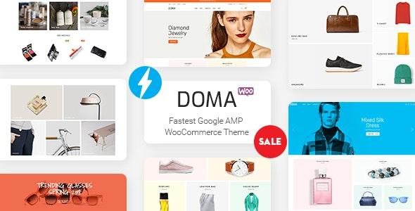 Doma - Google AMP Multi Vendor WooCommerce Theme - WooCommerce eCommerce