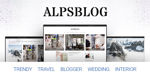 Alps Blog - Lifestyle Blog & Magazine WordPress - Travel Retail