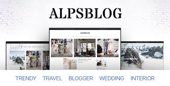 Alps Blog - Lifestyle Blog & Magazine WordPress