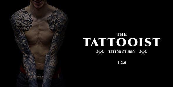 The Tattooist - Tattoo & Body Art Studio HTML Template