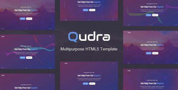 Qudra - Multipurpose HTML5 Template - Portfolio Creative