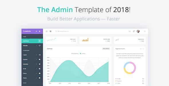 TheAdmin - Responsive Bootstrap 4 Admin, Dashboard & WebApp Template - Admin Templates Site Templates