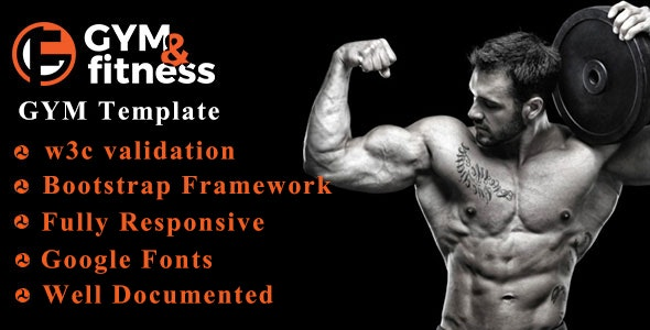 GYM & FITNESS | One Page Responsive HTML5 Gym Template - Health & Beauty Retail