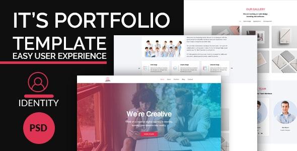Identity - Creative Portfolio Template - Portfolio Creative