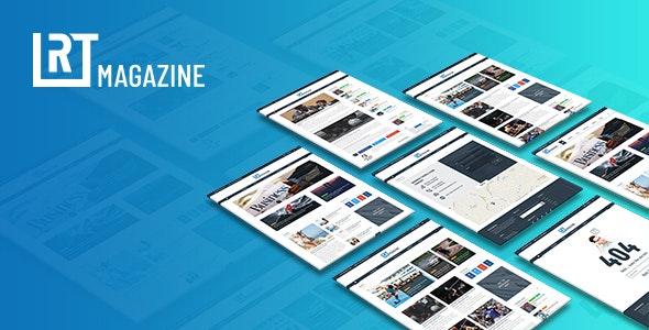 RT magazine - Multipurpose News Magazine HTML Template - Site Templates