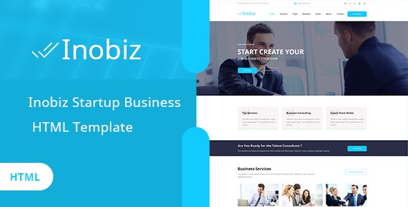Inobiz - Startup Business and Agency HTML Template - Business Corporate