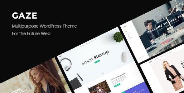 Gaze | Responsive Multipurpose WordPress Theme