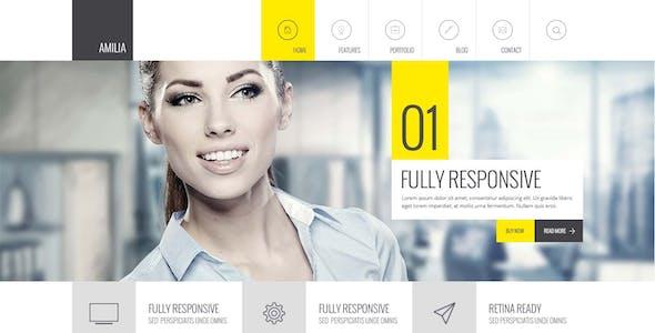 Amilia - Responsive Multi-Purpose Template