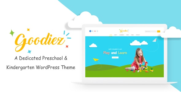 Goodiez  -  Kindergarten WordPress Theme - Education WordPress