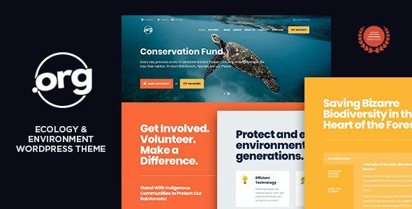 DotOrg - Environmental & Ecology WordPress Theme - Environmental Nonprofit